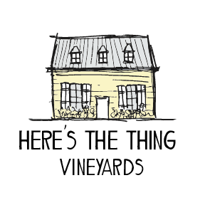 Here's the Thing Vineyard Stacked Colour